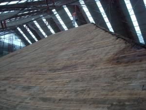 朝光寺の屋根修復1