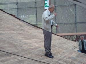 朝光寺の屋根修復3