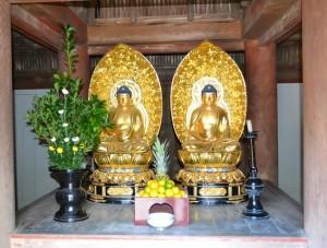 朝光寺:多宝塔仏像